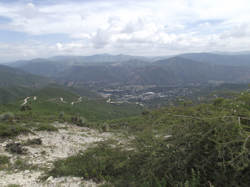 A view from just outside of Itztayatla.