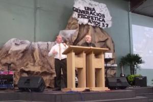 David interpreting for Dr. Tim Hamon.